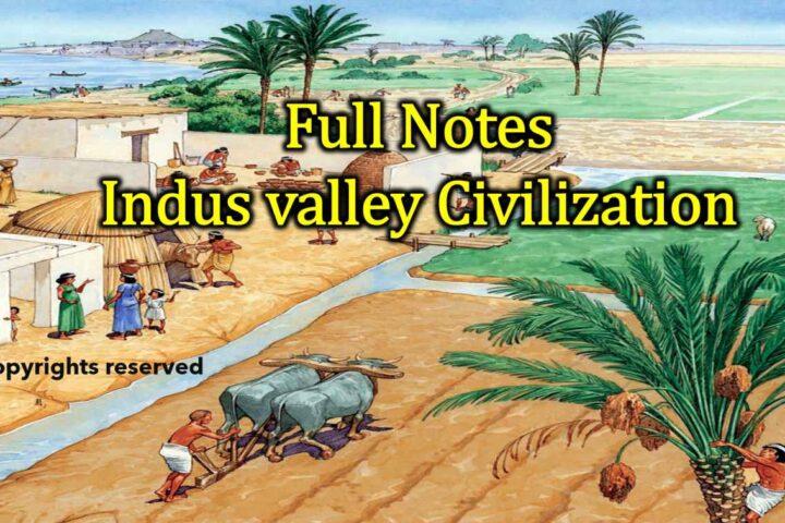 Indus Valley Civilization Notes Hindi